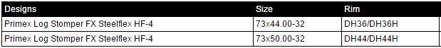 primex-logstomper-fx-steelflex-hf-4-size-chart